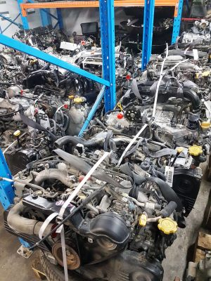 subaru engines in stock
